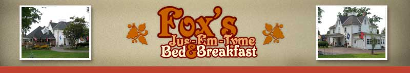 fox's jus-em-tyme bed and breakfast